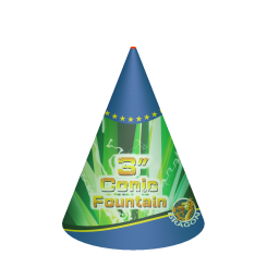 Conic Fountain 3""